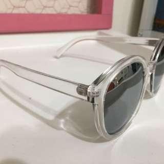 Grace gift 鏡面復古太陽眼鏡 (全新未使用