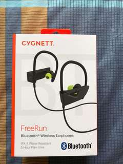 BNIB Cygnett FreeRun Bluetooth Wireless Earphones