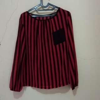 Atasan/top stripes