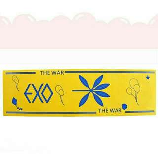 Kpop hand banner