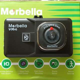 Marbella VR4 Car Recorder Full HD1080P