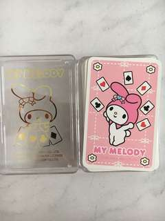 Sanrio My Melody Poker Cards