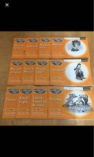 OXFORD Read Write Inc Set 4 orange story 1-12