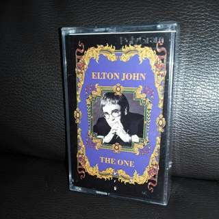 cassette English Elton John the one