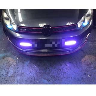 VW GTI DRL INSTALLED