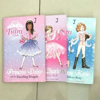 [clearance] the tiara club children's books girls by vivian french