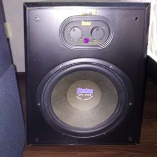 "High end Status 12""active subwoofer,remote"
