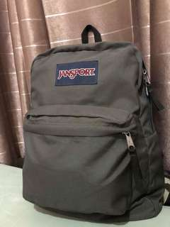 Gray Jansport Backpack