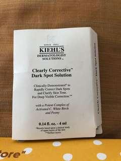 Kiehls clearly corrective dark spot solution