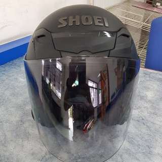 Shoei jf3 jforce 3 matte black original japa