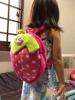 Strawberry Girl's Bag