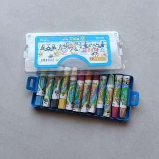 Crayon 12 warna