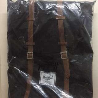 Herschel Retreat Black Backpack