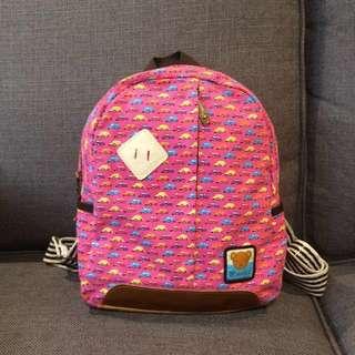 #Bajet20 Canvas backpack for kids