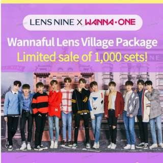 LENSNINE x WANNA ONE Wannaful Village Package