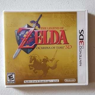 Nintendo 3ds N3DS Zelda Ocarina of Time free ship MM