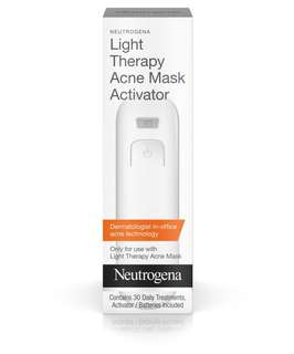 neutrogena acne light therapy mask