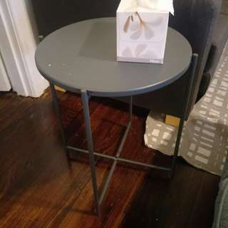 Small blue Kmart table