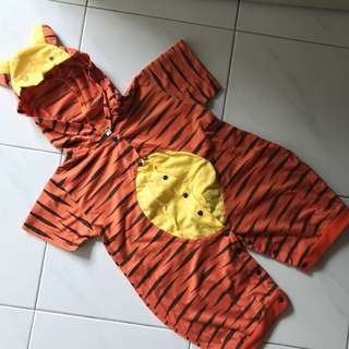 Tiger costume suit