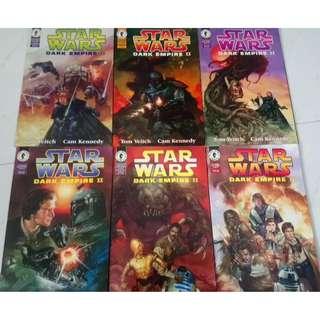 STAR WARS : DARK EMPIRE II # 1 - 6