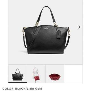 Pre-order: COACH SMALL KELSEY (LEATHER)