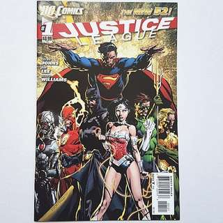 DC Comics New 52 Justice League 1 Variant 1:25 David Finch Cover