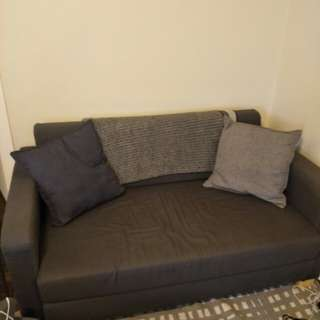 Ikea two seater couch/pull out bed