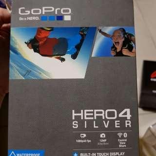 Go Pro Hero4 silver