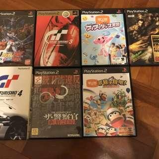PS2 PS3 games 遊戲碟