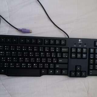 Logitech靜音鍵盤