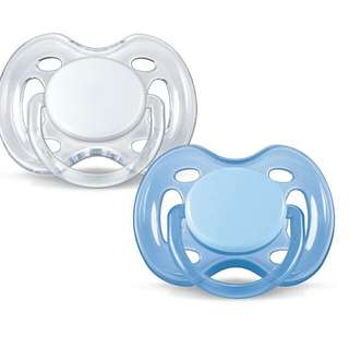 Avent free flow pacifier