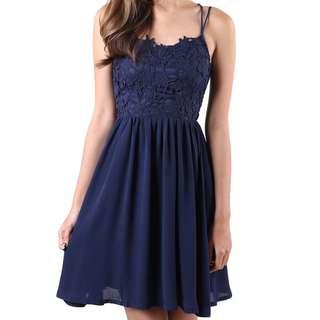 (L) MGP Crochet Dress