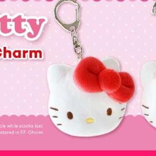 Hello kity ezlink charm plush