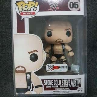 Funko Pop! WWE Stone Cold w/sticker