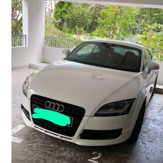 Car for rent (Audi TT)