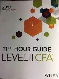 CFA level 2, 2017