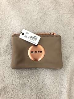 MIMCO | Small Pouch with rose gold hardware