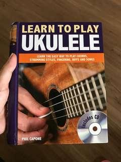(New hardcover) Learn to Play Ukulele