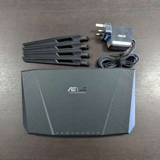 ASUS wireless router AC2400 4x4 Dual Band 1Gb not modem cable wifi