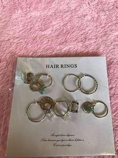 Hair rings from Japan