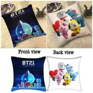 BTS BT21 Pillow