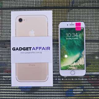 iPhone 7 128gb Gold Edition (Used)