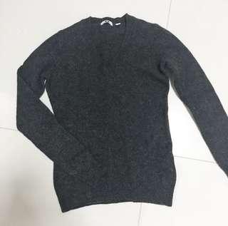 Uniqlo Pullover in Dark Grey