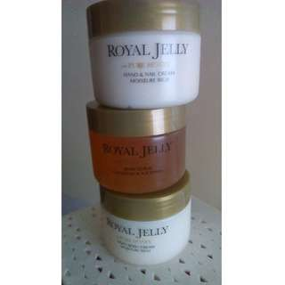 Marks and Spencer; royal jelly and pure honey