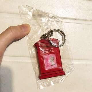 英女王紅色郵筒匙扣 珍藏品收藏品