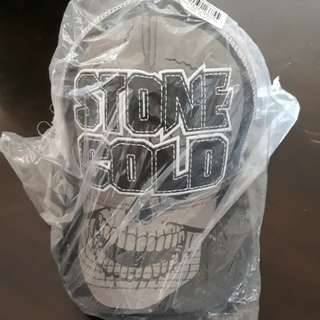 WWE Stone Cold Steve Austin White & Grey Baseball Cap