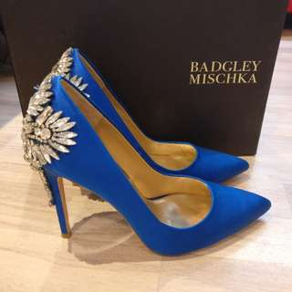 Genuine Badgely Mischka Poetry Pumps High Heels