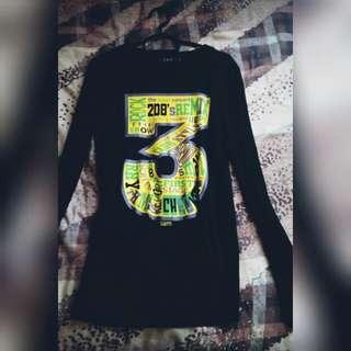 Sam Long Sleeve Black Tshirt