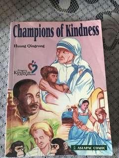 Champion of kindness