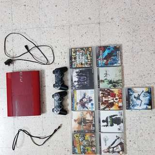 Used PS3 console and PS3 games